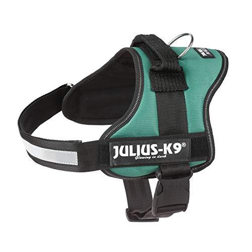 Julius-K9, Pettorina K9, Taglia: 0, Colore: Verde Scuro