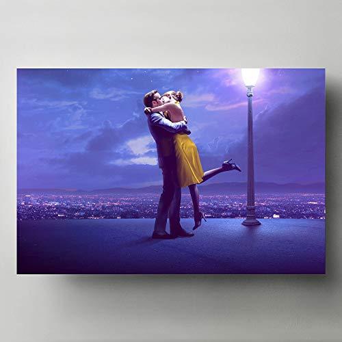 Pintura al óleo póster Pinturas decorativas modernas para el hogar, arte de pared, música, imagen de la tierra, lienzo, carteles e impresiones artísticos 50x70cm