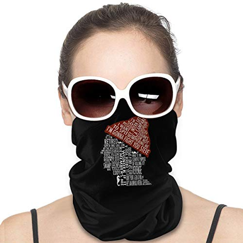 Augemin Summer-The-Life-Aquatic-with-Steve-Zissou-Bill-Murray Face Mask Dust Neck Gaiter Headwear Tube Mask Scarf Men & Women for Outdoor Sports Cover Scarf Bandana