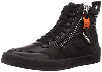 Diesel Men s D-Velows S-DVELOWS-Sneaker mid Black 11.5 M US