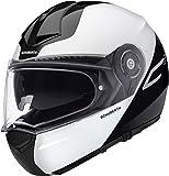 SCHUBERTH C3 Pro Split Blanco Modulares Casco De Motocicleta Tamano L