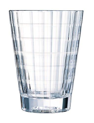 Cristal d'Arques N5194 Set de 4 Gobelets, Transparent