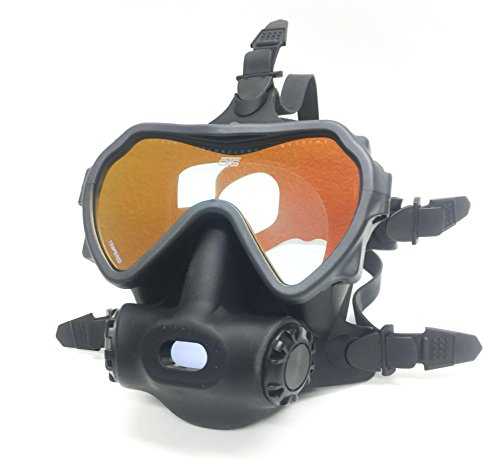 OTS Spectrum Full Face Mask, Black Tinted Lens