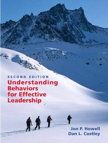 Understanding Behaviors for Effective Leadership