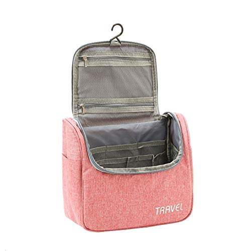 Toiletry Bag Wash Bag Hanging - Acdyion Men and Women Make up Portable Large Cosmetic Bag Travel Waterproof Business Trip Gym Holiday for Girls Kids