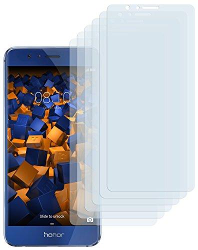 Schutzfolie kompatibel mit Huawei Honor 8 Folie klar, Displayschutzfolie (6X)