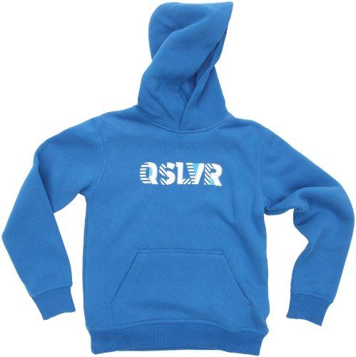 Quiksilver Hood Rib - Chaqueta para niño, tamaño 10 años, Color Azul