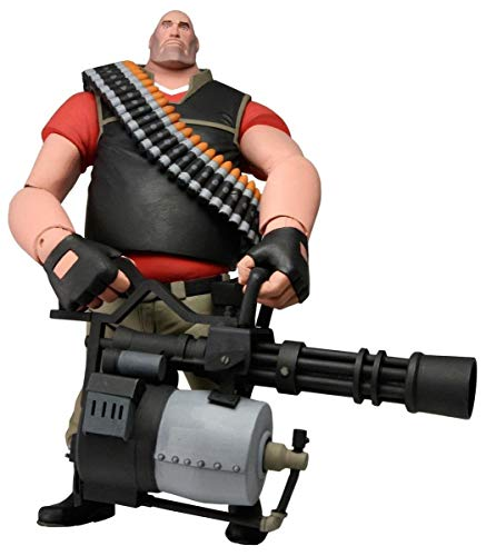 """NECA Team Fortress 2 The Heavy Action Figure, 7"""""""
