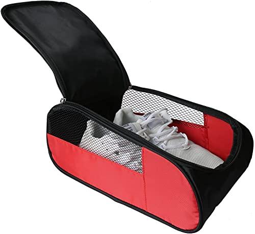 In attesa di gioia, borsa per scarpe da golf, borsa per scarpe da golf, da uomo, da donna, con cerniera, con ventilazione, borsa per scarpe da viaggio