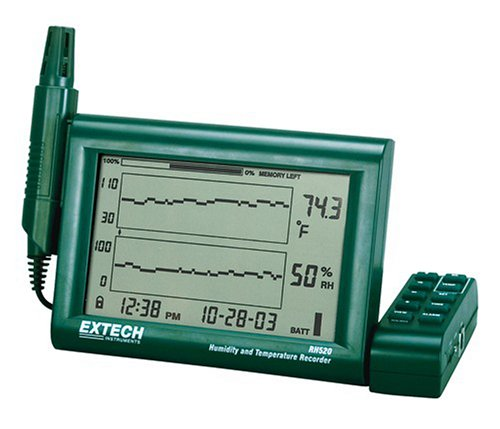 Extech RH520A Humidity and Temperature Chart Recorder with ... on