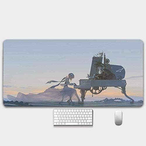 BOIPEEI Mouse Pad/Gen-Shin Im-Pact Anime Mouse Pad/Xl Xxl Game Mouse Cushion Anti-Slip/Anti-Dirty/Office Mouse Pad(30x80cm) L198