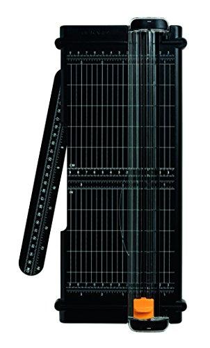Fiskars Recycelte Papierschneidemaschine, A4, Mit titaniumbeschichteter Edelstahl-Klinge, Umweltfreundlich, SureCut, 1004639