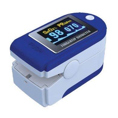 pulsossimetro da dito oximetro saturimetro con display orientabile