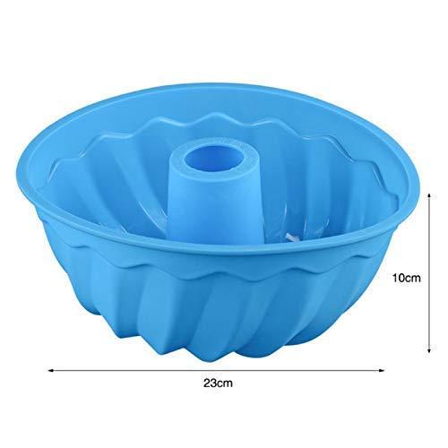 Kuchenformen 3D große Strudel-Form-Silikon-Kuchen-Form Küchen-Backen-Formwerkzeuge for Butterkuchen Bäckerei Backform Bakeware DAGUAI