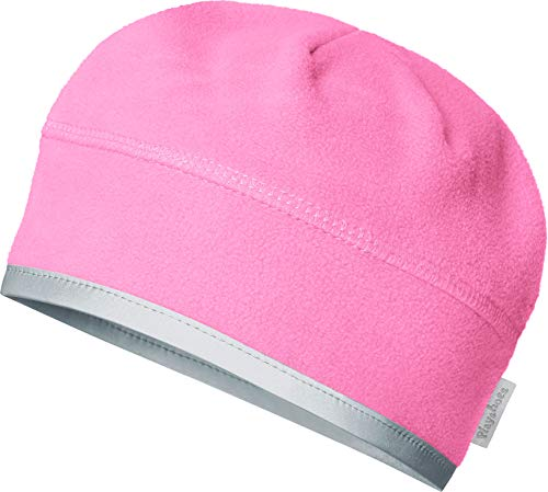 Playshoes Unisex Kinder Fleece helmgeeignet Mütze, Rosa (Pink 18), 53 cm