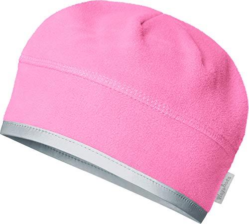 Playshoes Mädchen Fleece helmgeeignet Mütze, Rosa (Pink 18), 55 cm
