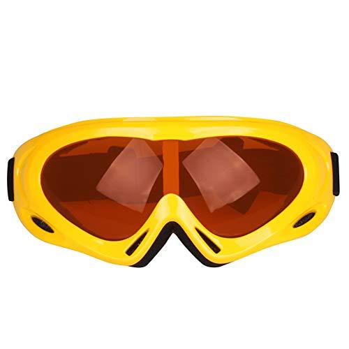 Allegorly Gafas De Esquí Gafas De Esquí Antivaho Gafas De Snowboard HD Lentes De Una Sola Capa Sin Marco ProteccióN Uv400 Gafas De Nieve Gafas Compatibles con Casco para Mujeres Hombres
