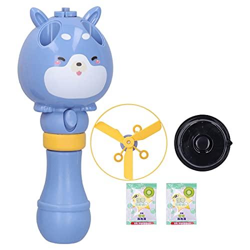 Tnfeeon Juguete para Hacer Burbujas, hélice voladora, máquina para Hacer Burbujas, Juguete para Hacer Burbujas, Juguete para niños, niños pequeños