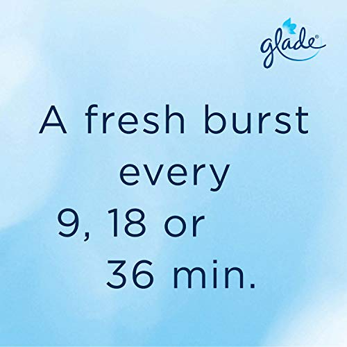 Glade Auto Spray Refill Clean Linen 269 ml, Pack of 4