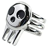 Zonster Hip-hop Punk Eater Death The Kid Ring for Women Men Silver