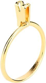 NCONCO anillo piedra titular desnuda piedra piedra piedra piedra diamante garra exhibición diente herramienta para hacer j...