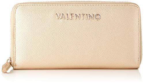 Valentino by Mario Valentino dames Divina portemonnee, goud (oro), 2.5x10.5x14.5 cm