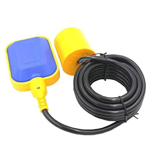 Sensor del control de nivel de líquido de agua Interruptor de fluidos contactor 4M Tipo de cable rectangular para la bomba del tanque