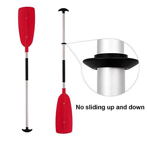 Kajak Paddel Tropfringe Universal Für Kayak Kanu Rafting Paddel Shaft 4PCS