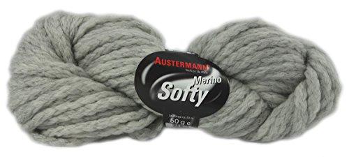 Softy Merino Austermann Merinoschurwolle 50 g Farbe 07
