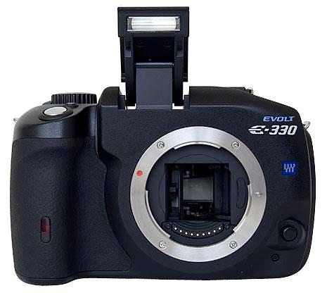 Olympus Evolt E330 7,5 MP digitale Spiegelreflexkamera (nur Gehäuse)