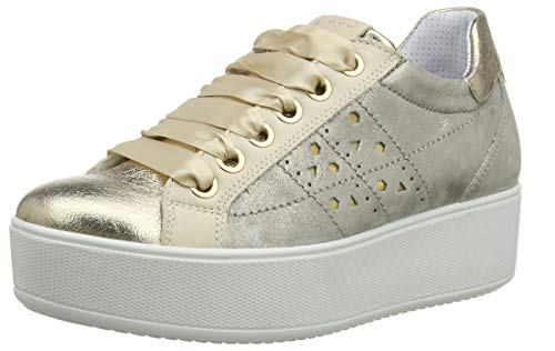 IGI&CO Dim 31559, Zapatillas de Gimnasio Mujer, Oro Platino 3155922, 38 EU