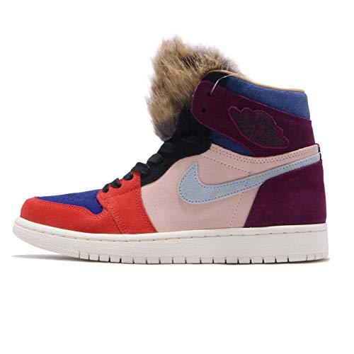 Nike Wmns Air Jordan 1 High OG NRG, Zapatillas de Deporte Mujer, Multicolor (Bordeaux/Lt Armory Blue/Sunset Tint 600), 42.5 EU