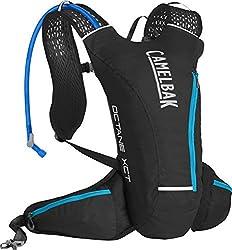 CamelBak Octane XCT 70 Crux Reservoir Hydration Pack, Black/Atomic Blue, 2 L/70 oz