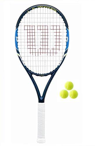 WILSON Ultra 103S Tennisschläger + 3Tennisbälle, 180L2