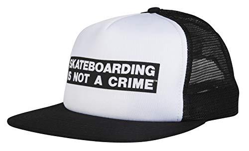 Santa Cruz - Not a Crime Gorra Trucker para Hombre White/Black