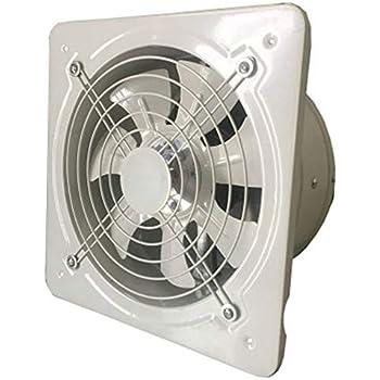 FEKETEUKI Extractor de ventilación industrial Metal Axial ...
