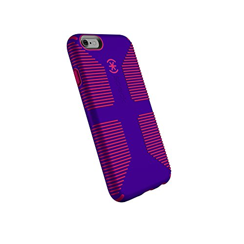 Speck Products CandyShell Grip Cell Phone Case for iPhone 6, iPhone 6S - Ultraviolet Purple/Ruby Red