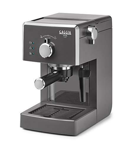 Gaggia Viva Chic Industrial Grey - Máquina manual para el café, 1025 W, 1 litro, ABS