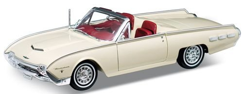 Welly - Voiture miniature - 1962 Ford Thunderbird Sports Roadster Soft Top