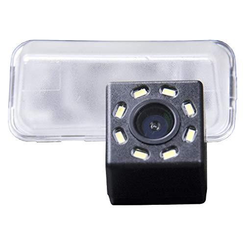 Auto Rückfahrkamera Farbkamera Einparkkamera Nachtsicht und für Rückfahrsystem Einparkhilfe - Wasserdicht & Stoßfest für Toyota Corolla Levin Yaris L Vios Verso Camry Highlander