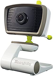 Moonybaby B Series Add on Camera Unit for Wide Angle Video Baby Monitor, This Model Supports Maximum 2 Cameras