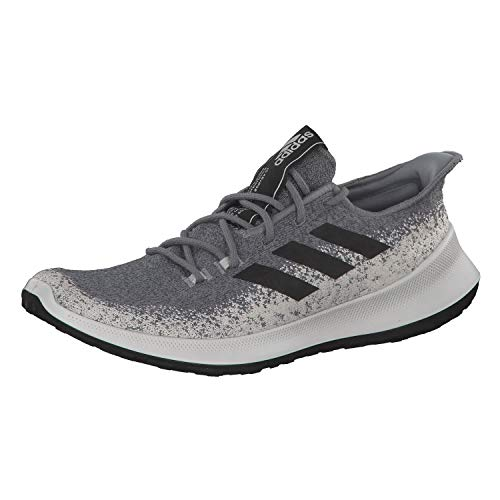 adidas Performance SenseBounce + męskie buty do biegania, szary - Grey Three F17 Core Black Grey Five - 48 EU