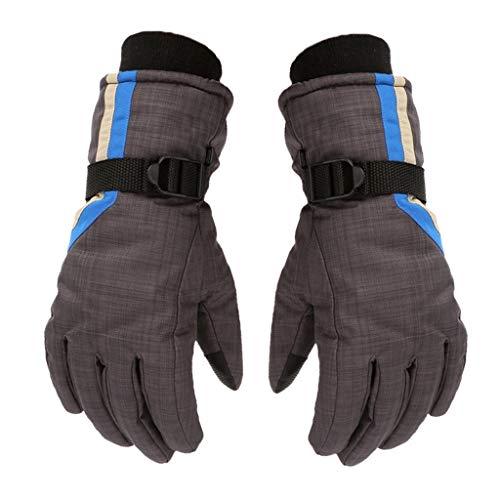 Gloves Gants de Ski Thermiques Thinsulate Noirs pour Enfants, Tofern sous Gant Tactile Efficace Hiver Automne Thermique Seconde Peau Ultra Doux Confort Coupe