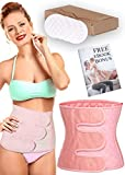 LucyVee Postpartum Belly Wrap – After Birth Belly Band for C Section Recovery - Use it as Waist Slimming Belt, Baby Belly Binder or Post Maternity Shaper (Extra Large)
