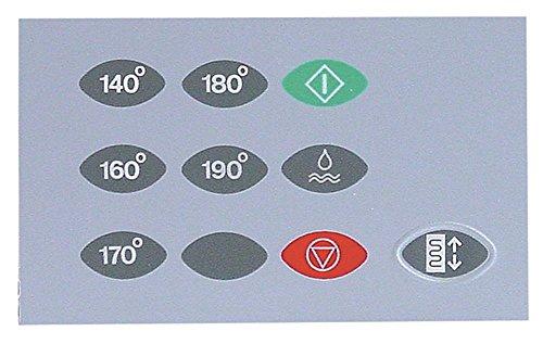 FriFri FFM31 Film de protection pour clavier de friteuse FFE21