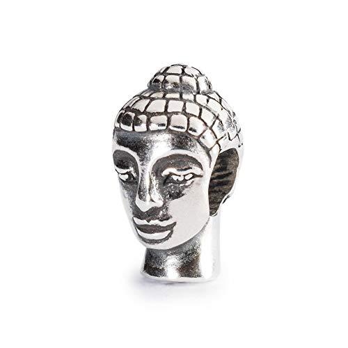 Trollbeads Dreambase-Bead Testa del Buddha - 925 Argento TAGBE-10037