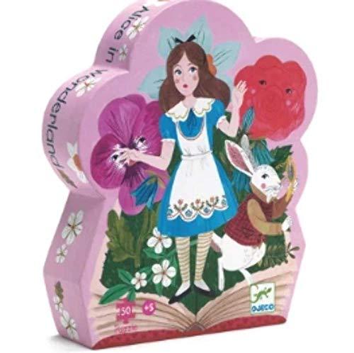 Djeco Formen Puzzle: Alice in Wonderland - 50Stk.