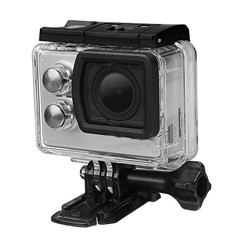 KoTag Action Camera Ultra HD Durable WiFi Action Camera IMX117 CMOS 2.0 Inch LCD Sport DV Ambarella (Color : Gray, Size : One Size)