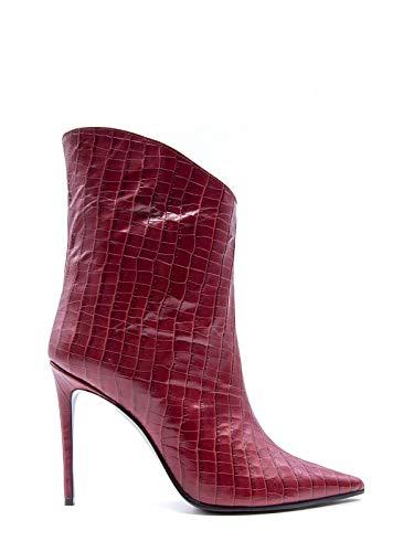 Luxury Fashion   Aldo Castagna Dames ELISE142BORDEAUX Bordeaux Leer Enkellaarzen   Herfst-winter 19