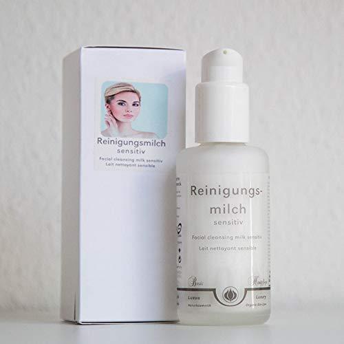 Light-of-Nature, Reinigungsmilch Sensitiv mit spagyrischer Veilchen- und Bergkristall-Essenz - 100 ml